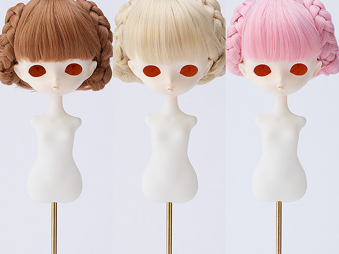Harmonia bloom Wig Series: Chignon Short Hair